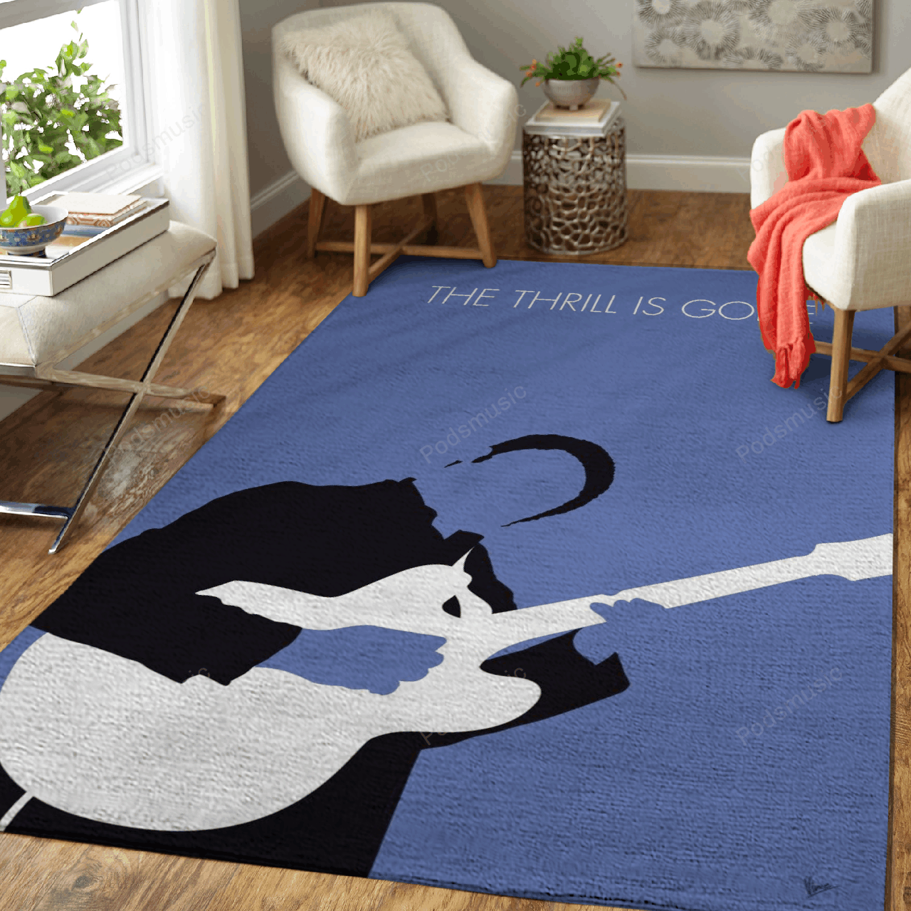 No048 MY BB KING Minimal Music Artwork BB, KING, The, Th ...  - Minimal Music Artworks Art For Fans Area Rug Living Room Carpet Floor Decor