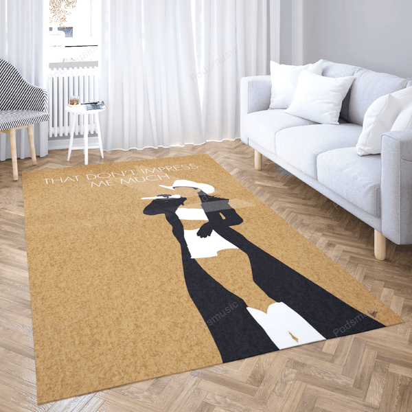No160 MY Shania Twain Minimal Music Artwork - Minimal Music Artworks Art For Fans Area Rug Living Room Carpet Floor Decor