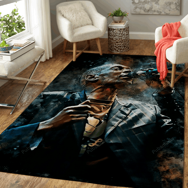 Maxi Jazz - Rapper Music World Art For Fans Area Rug Living Room Carpet Floor Decor