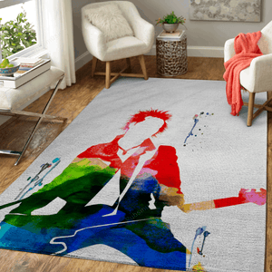 Sex Watercolor - Music Legends Art For Fans Area Rug Living Room Carpet Floor Decor