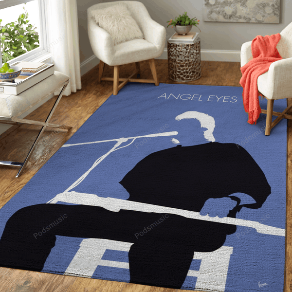 No208 MY Jeff Healey Minimal Music Artwork - Minimal Music Artworks Art For Fans Area Rug Living Room Carpet Floor Decor