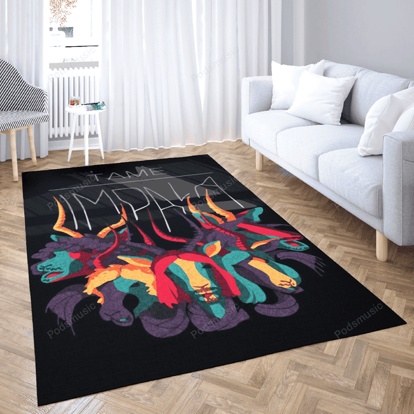 Tame Imapla Goat - Music Art For Fans Area Rug Living Room Carpet Floor Decor