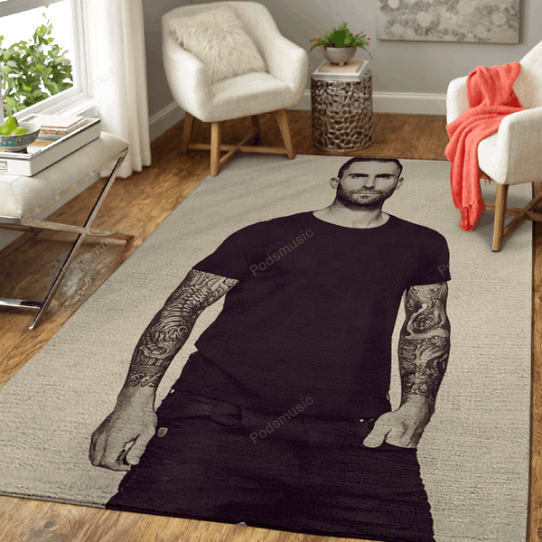 Maroon 5 24 - Music Art For Fans Area Rug Living Room Carpet Floor Decor