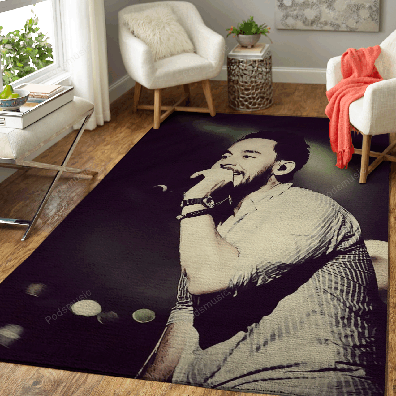 Linkin Park 249 - Music Art For Fans Area Rug Living Room Carpet Floor Decor