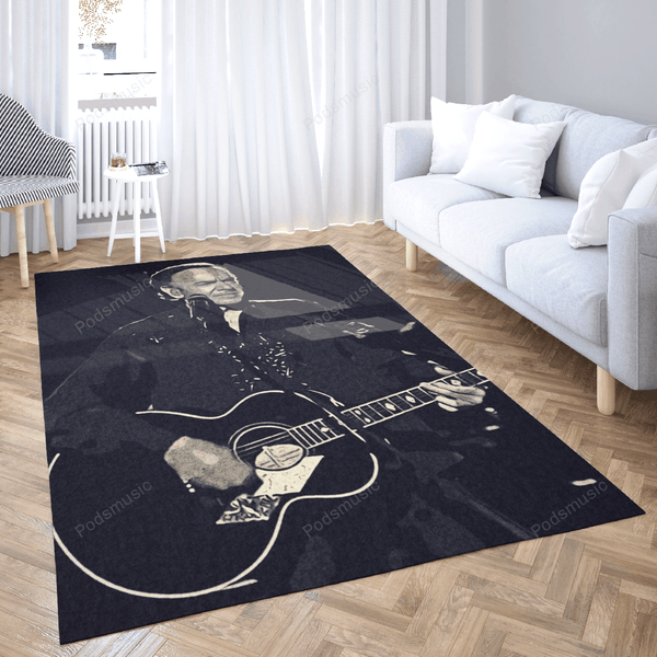 Neil Diamond Art 1 - Music Artist Art For Fans Area Rug Living Room Carpet Floor Decor