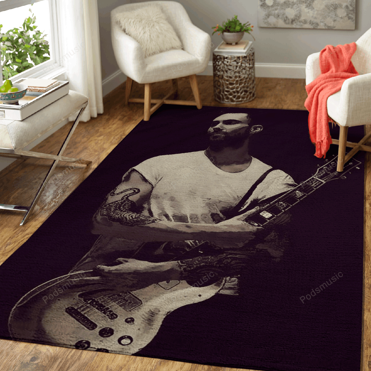 Maroon 5 25 - Music Art For Fans Area Rug Living Room Carpet Floor Decor