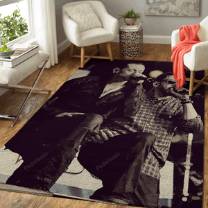 LinkinPark 50 - Music Art For Fans Area Rug Living Room Carpet Floor Decor