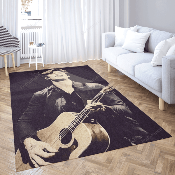 Shawn Mendes 233 - Music Art For Fans Area Rug Living Room Carpet Floor Decor