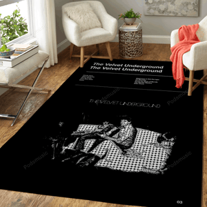 The Velvet Underground  - Music Album Art For Fans Area Rug Living Room Carpet Floor Decor