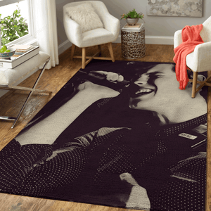 Shawn Mendes 220 - Music Art For Fans Area Rug Living Room Carpet Floor Decor