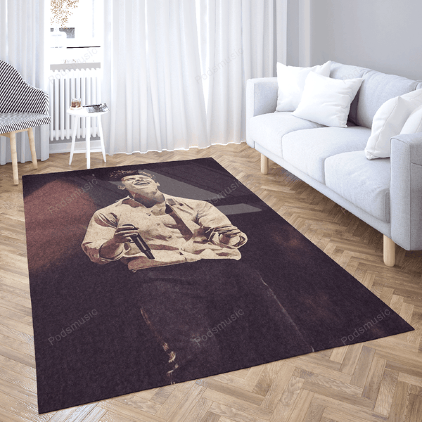 Shawn Mendes 205 - Music Art For Fans Area Rug Living Room Carpet Floor Decor
