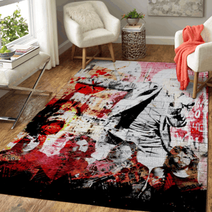 Pink Floyd The Wall - Music Art For Fans Area Rug Living Room Carpet Floor Decor