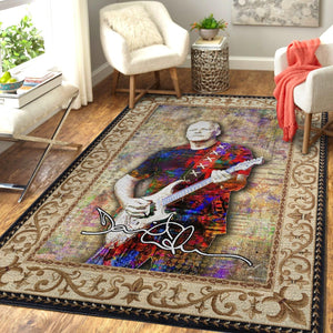 David Gilmour Rock Rug Room Carpet Sport Custom Area Floor Home Decor