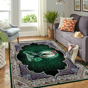 Boston Celtics NBA Rug Room Carpet Sport Custom Area Floor Home Decor