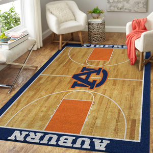 Auburn Tigers NCAA Basketball Rug Room Carpet Sport Custom Area Floor Home Decor