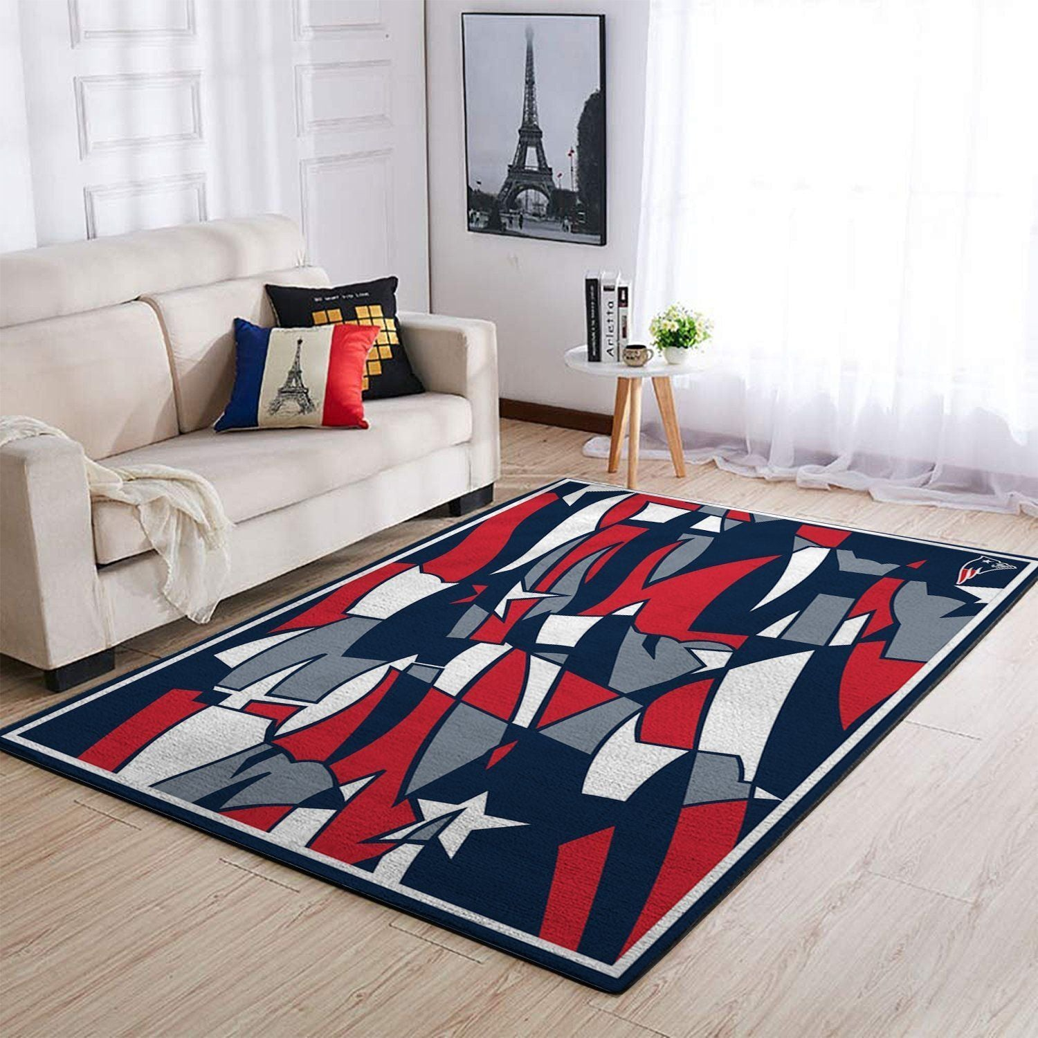 New England Patriots Area Rug NFL Football Floor Decor 1910074