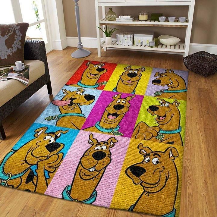 Scooby-Doo Area Rug, Movie Floor Decor 190919