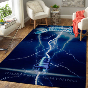 Metallica Area Rug / Music Floor Decor 1910122