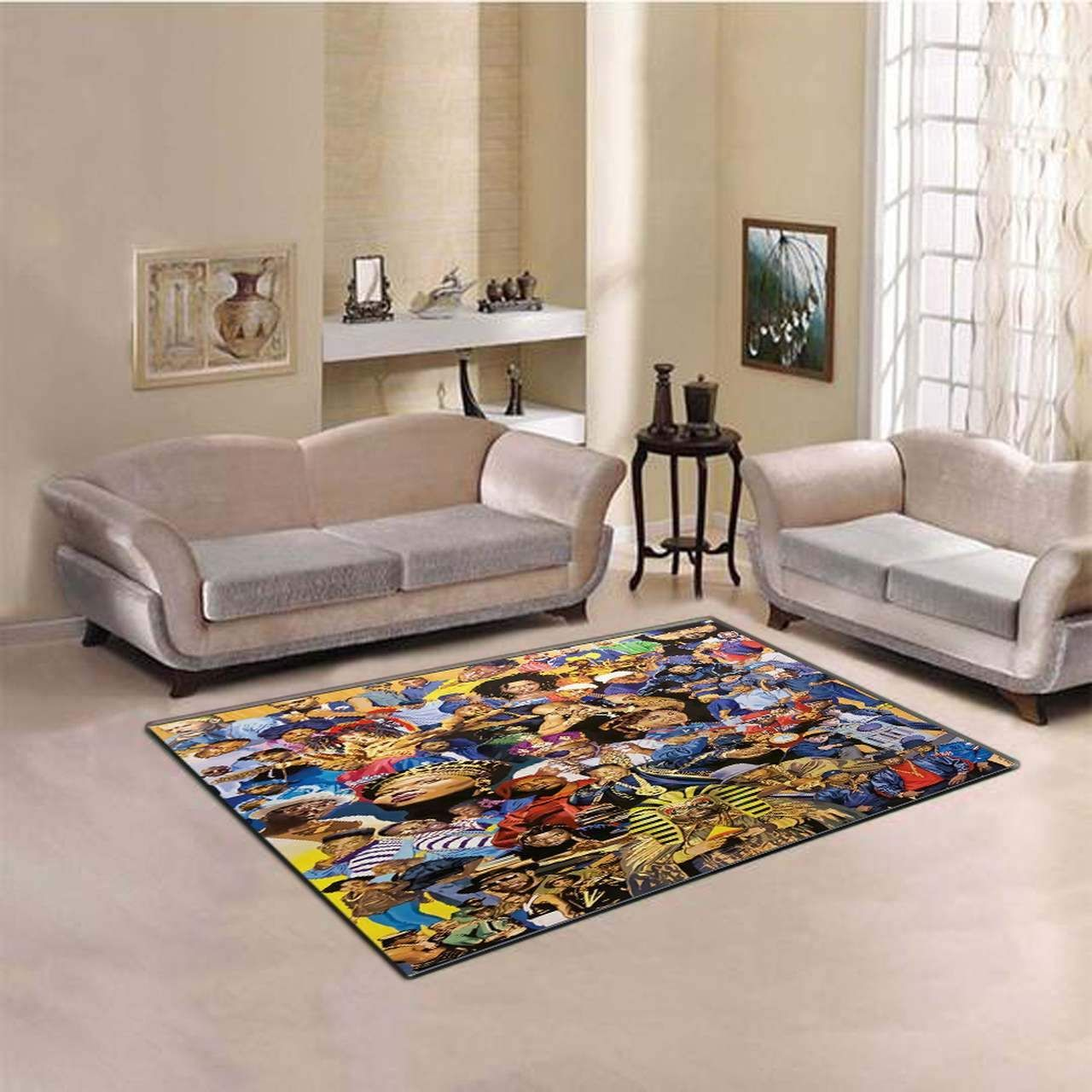 The Art Of Hip Hop Area Rugs Living Room Carpet Christmas Gift Floor Decor RCDD81F33345