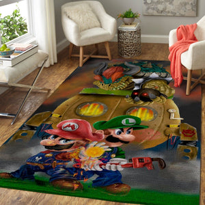 Super Mario Bros. Area Rug / Gaming  Floor Decor 191013