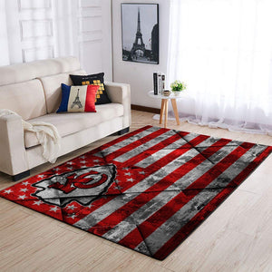 Kansas City Chiefs Area Rug, NFL Football Floor Decor 1910076