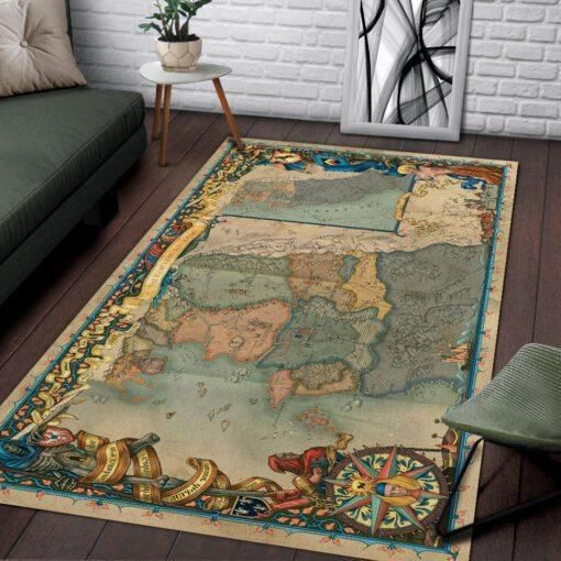 The Witcher Map Living Room Area Carpet Living Room Rugs RCDD81F34418