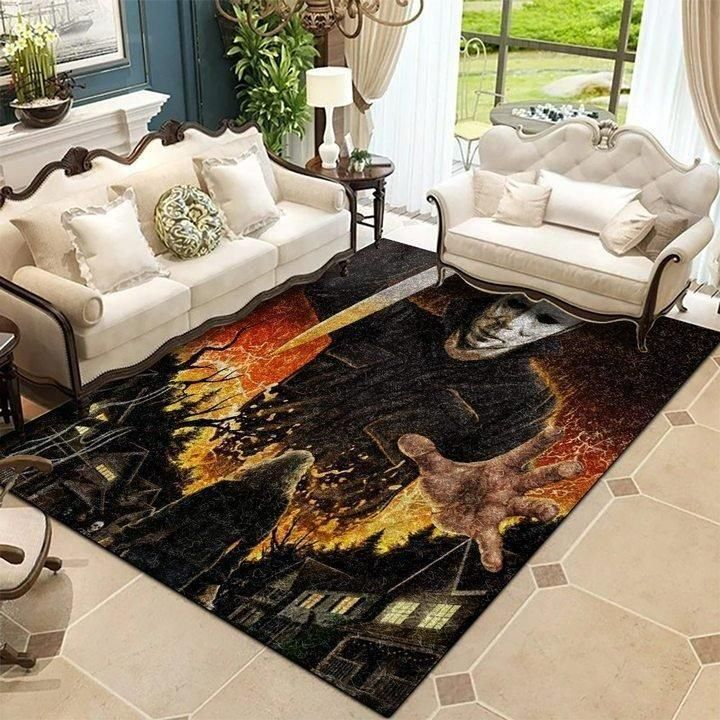 Michael Myers - Halloween Series 19091101 Area Rug OFD