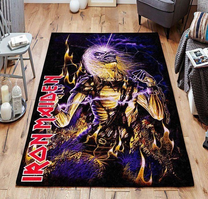 Iron Maiden Area Rug / Music OFD 19110113