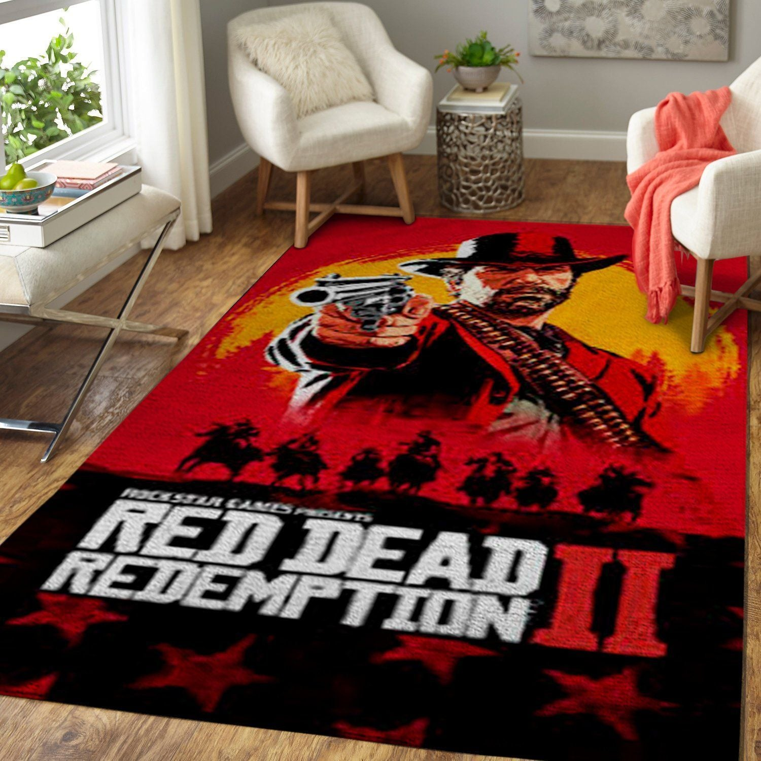 Red Dead Redemption Area Rug / Gaming GFD 190916