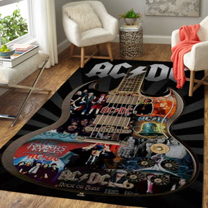 AC/DC Area Rug / Music OFD 191012