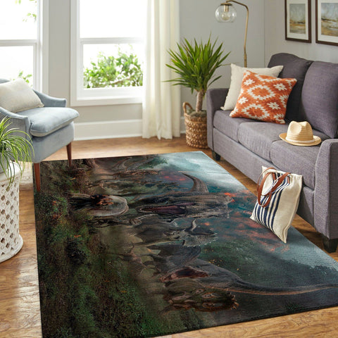 Jurassic World Area Rug - Fallen Kingdom / Movie OFD 190902