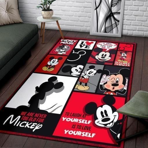 Mickey Area Rug, Disney Movie OFD HH30103