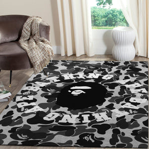 BAPE Area Rug Hypebeast Fashion Brand Living Room Carpet, Floor Decor 1912042
