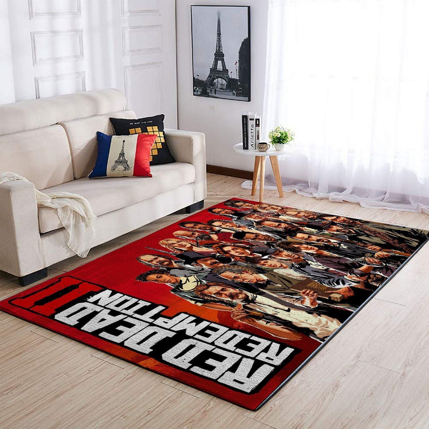 Red Dead Redemption Area Rug / Gaming GFD 19091601