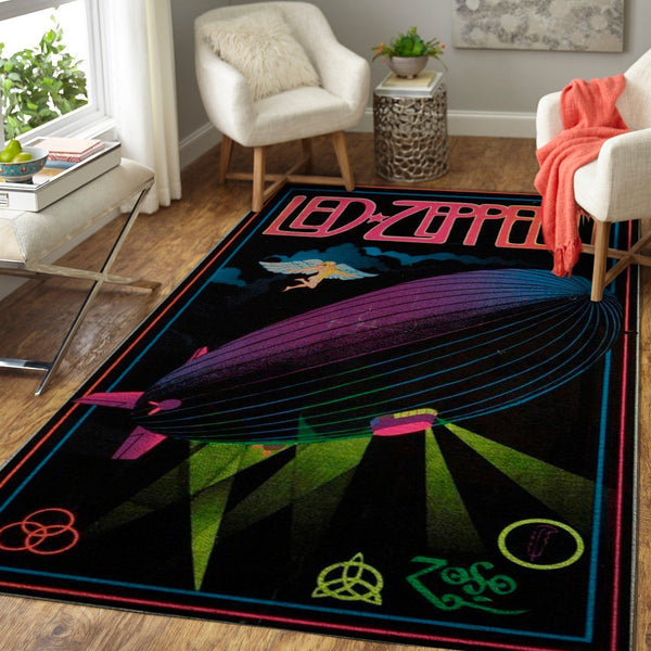 Led Zeppelin Area Rug / Music OFD 191012