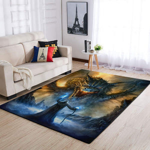 Jack Frost And The War Against Evil Area Rug OFD