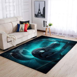 Headphone Area Rug / Music OFD 1909262