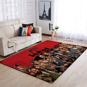 Red Dead Redemption Area Rug / Gaming GFD 19091606