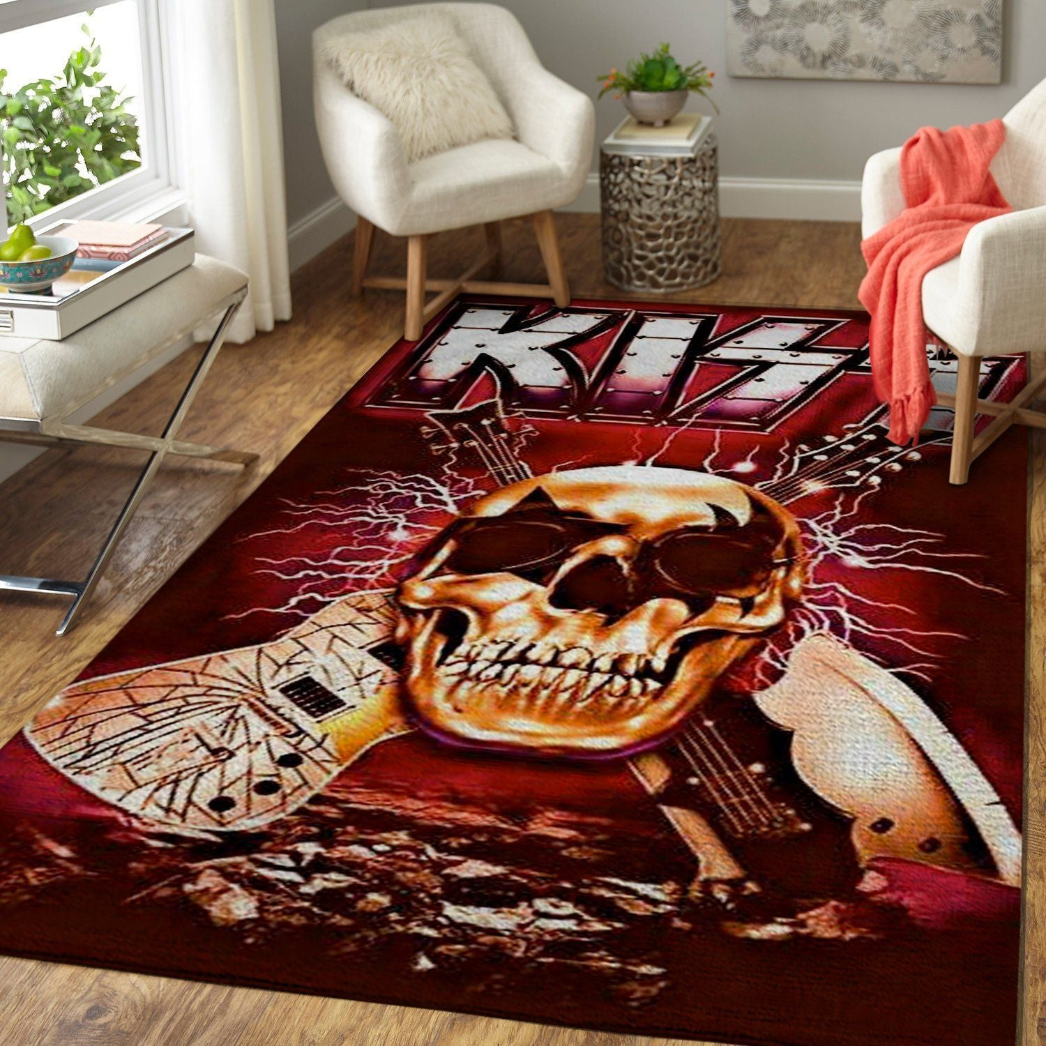 Kiss - Rock Band Area Rug / Music OFD 191012