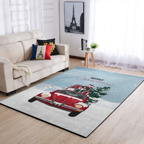 """Merry Christmas"" Car Area Rug / 1909274 Christmas OFD"