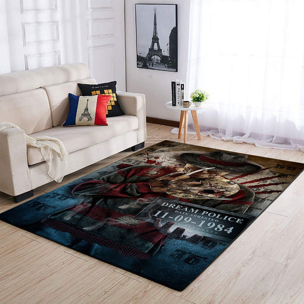 Freddy Grueger - The A Nightmare on Elm Street 190912 Area Rug OFD