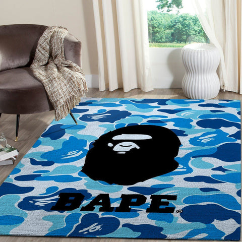 BAPE Area Rug Hypebeast Fashion Brand Living Room Carpet, Floor Decor 191204