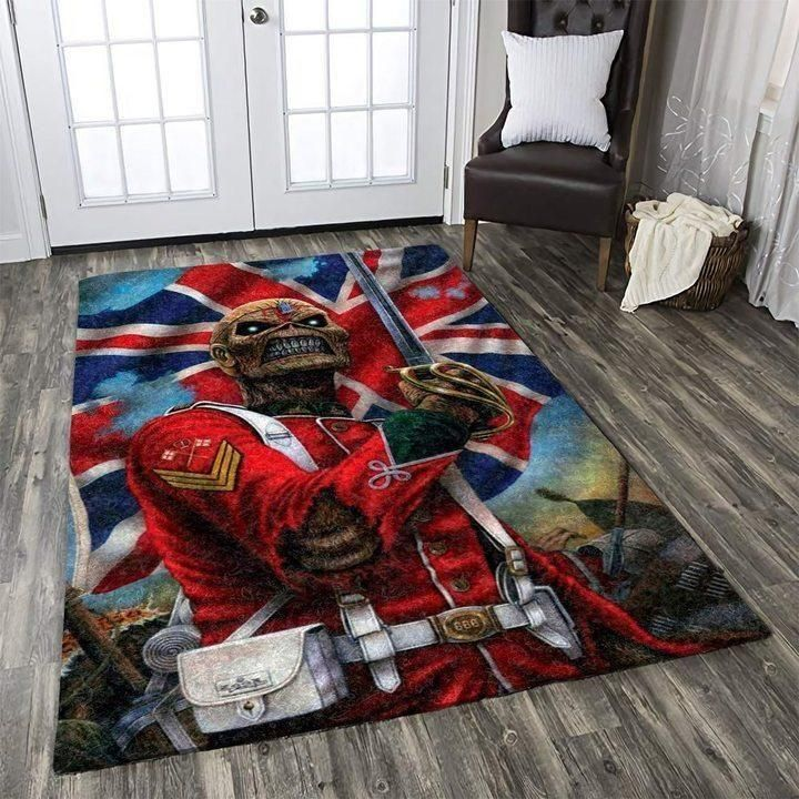 Iron Maiden Area Rug / Music OFD 1911011