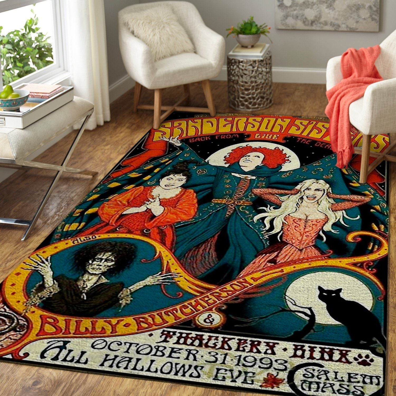 Sanderson Sisters - Hocus Pocus Movie HP190830 Area Rug Floor Decor