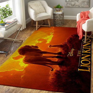 The Lion King Area Rug, Disney Rugs Floor Decor 190831