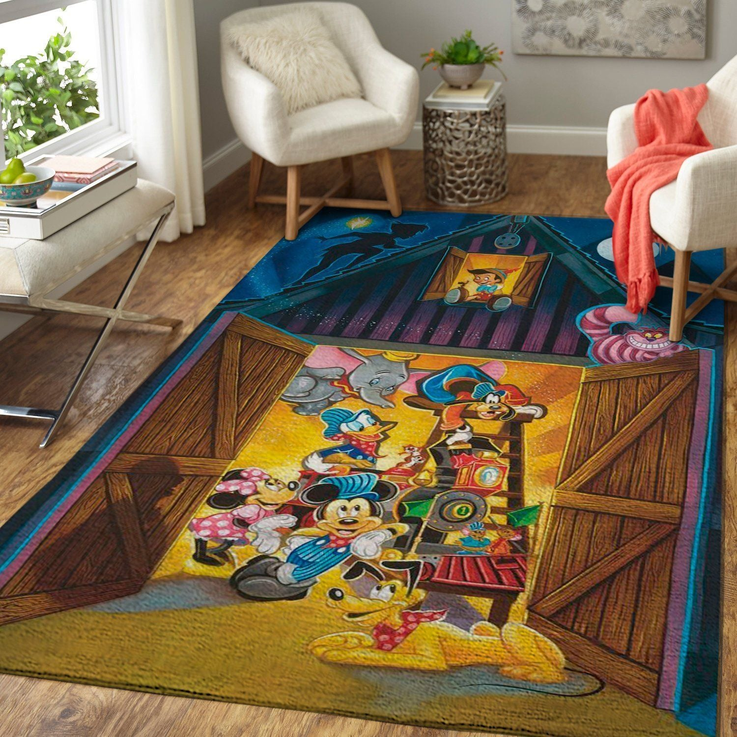 Mickey Mouse Area Rug / Disney Movie OFD 19102113