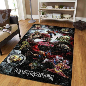 Iron Maiden Area Rug / Music OFD SF190903