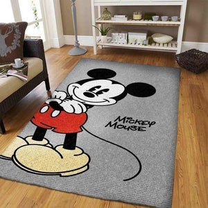 Disney Mickey Mouse Area Rug,Cute Movie OFD M30106
