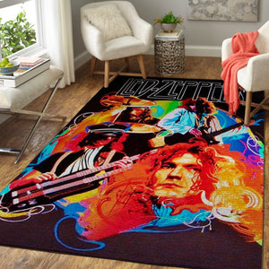 Led Zeppelin Area Rug / Music OFD 1910122