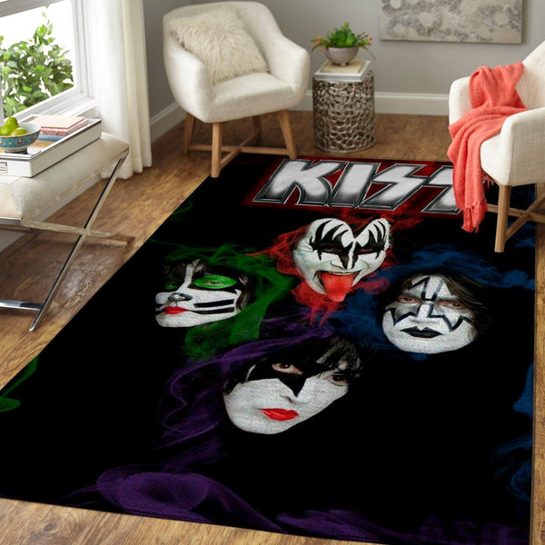 Kiss - Rock Band Area Rug / Music OFD 1910121